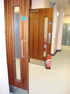 Is It Ever Ok to Wedge Open a Fire Door?
