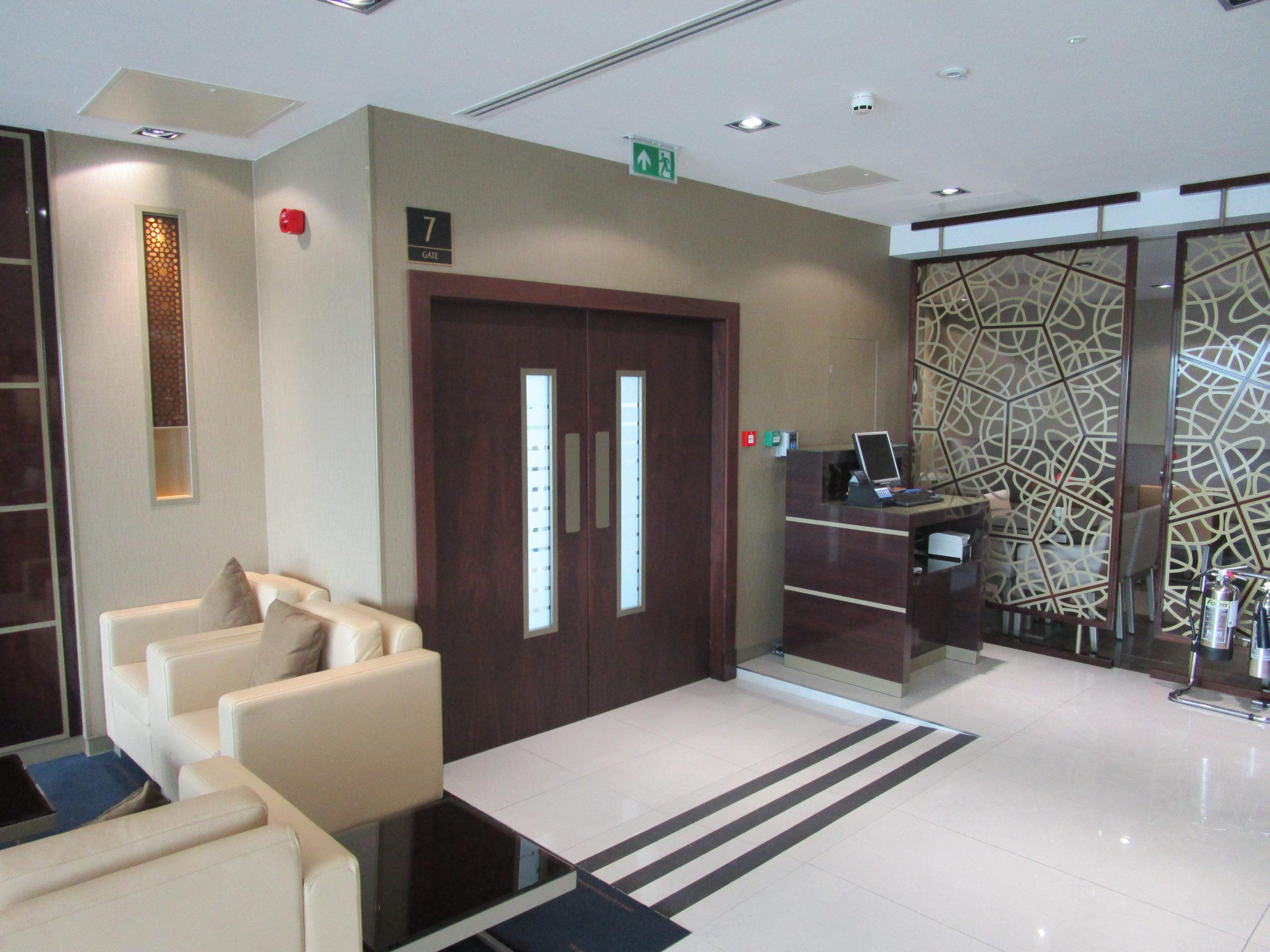 Emirates Lounge, Heathrow