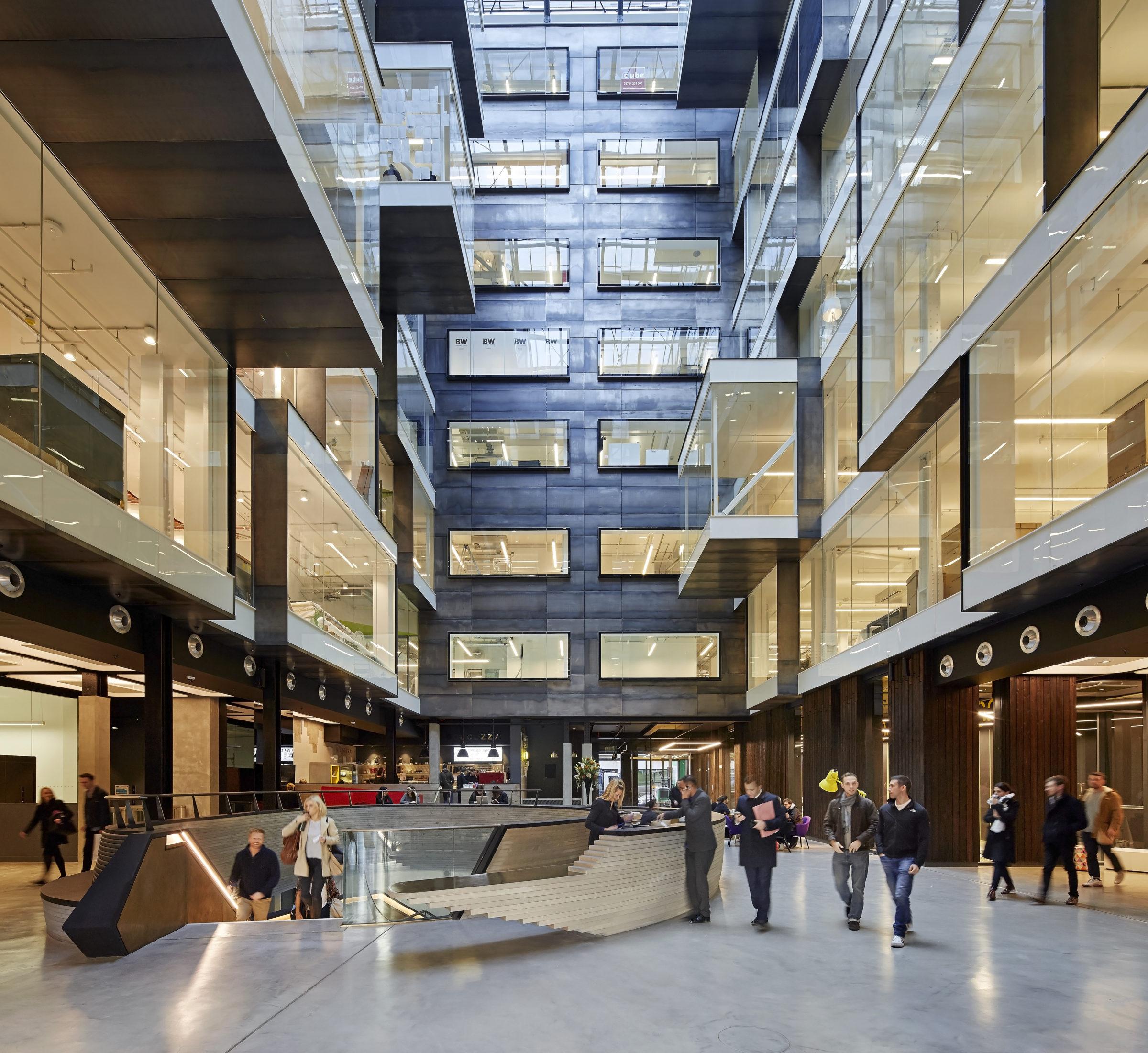 Alphabeta office building, London