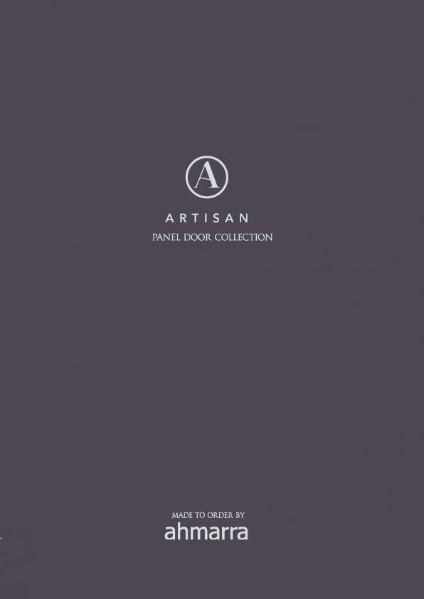 Artisan Panel Door Collection Brochure   Ahmarra Door Solutions