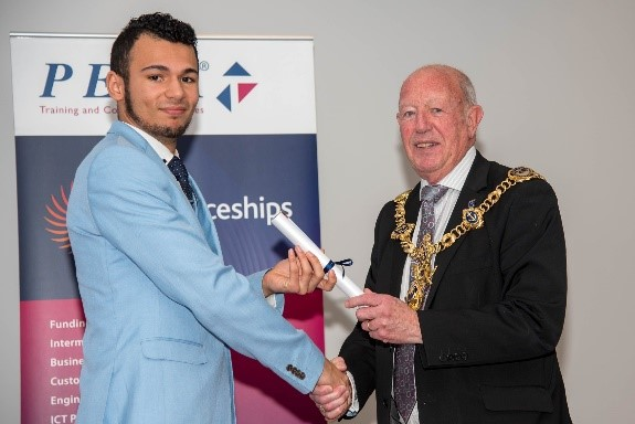 Congratulations to our Sales Estimator, Joshua Ballingall on being a finalist for PETA's Apprentice of the Year awards