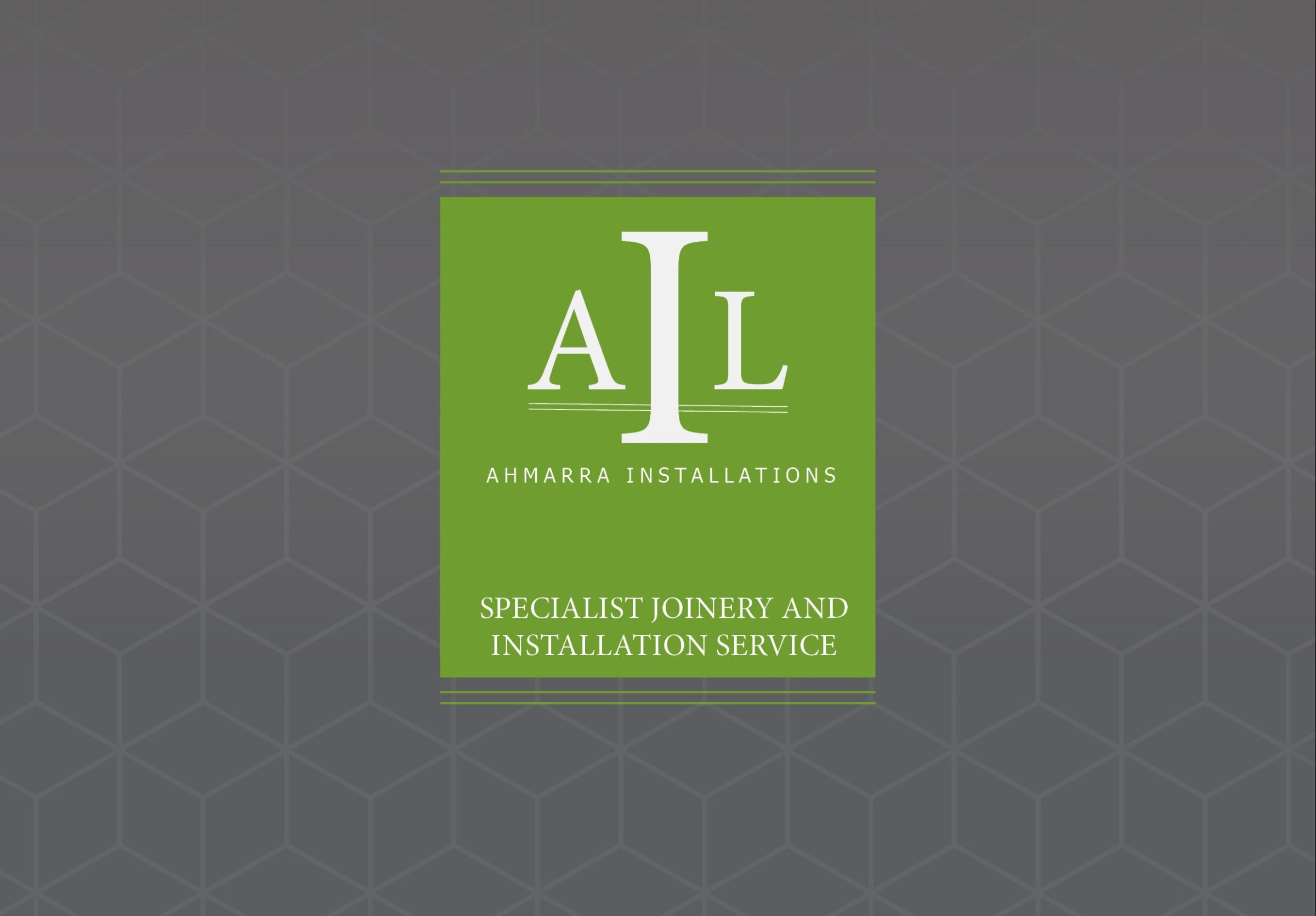 NEW website and brochure for Specialist Joinery and Installation from Ahmarra
