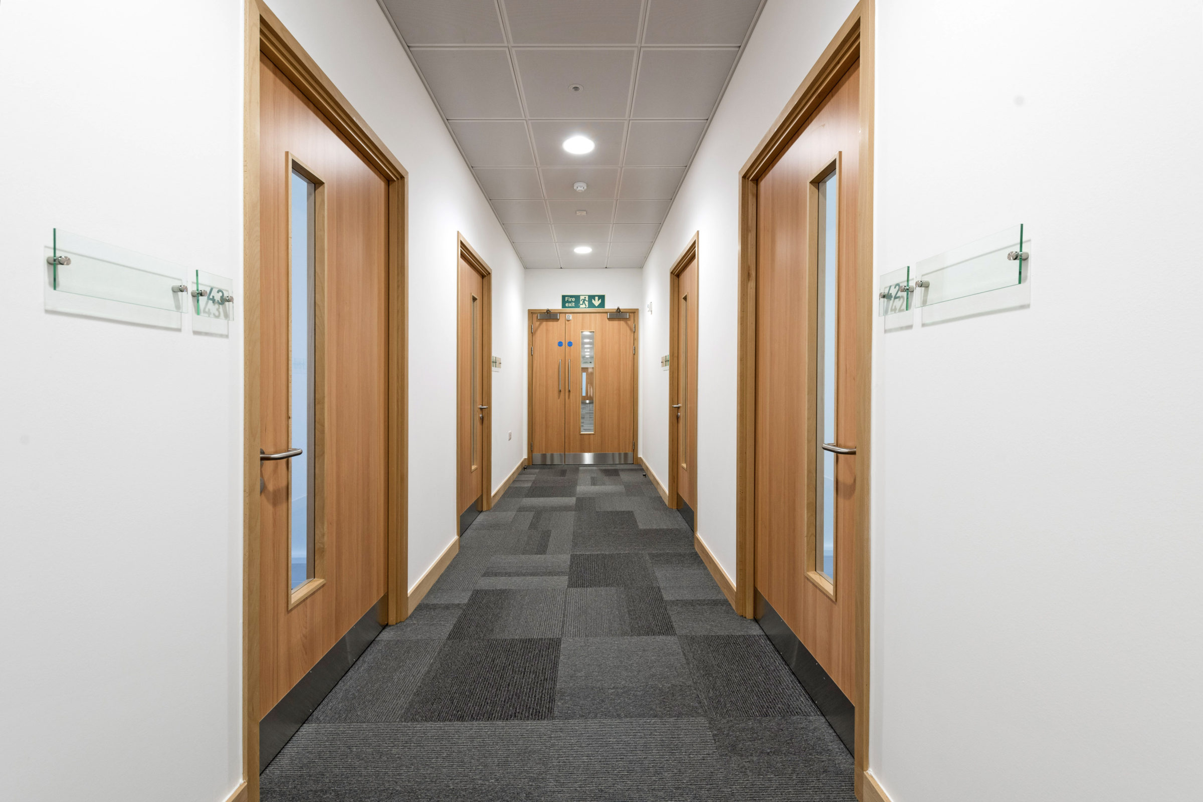 Fire doors supplied and installed at Fareham Innovation Centre