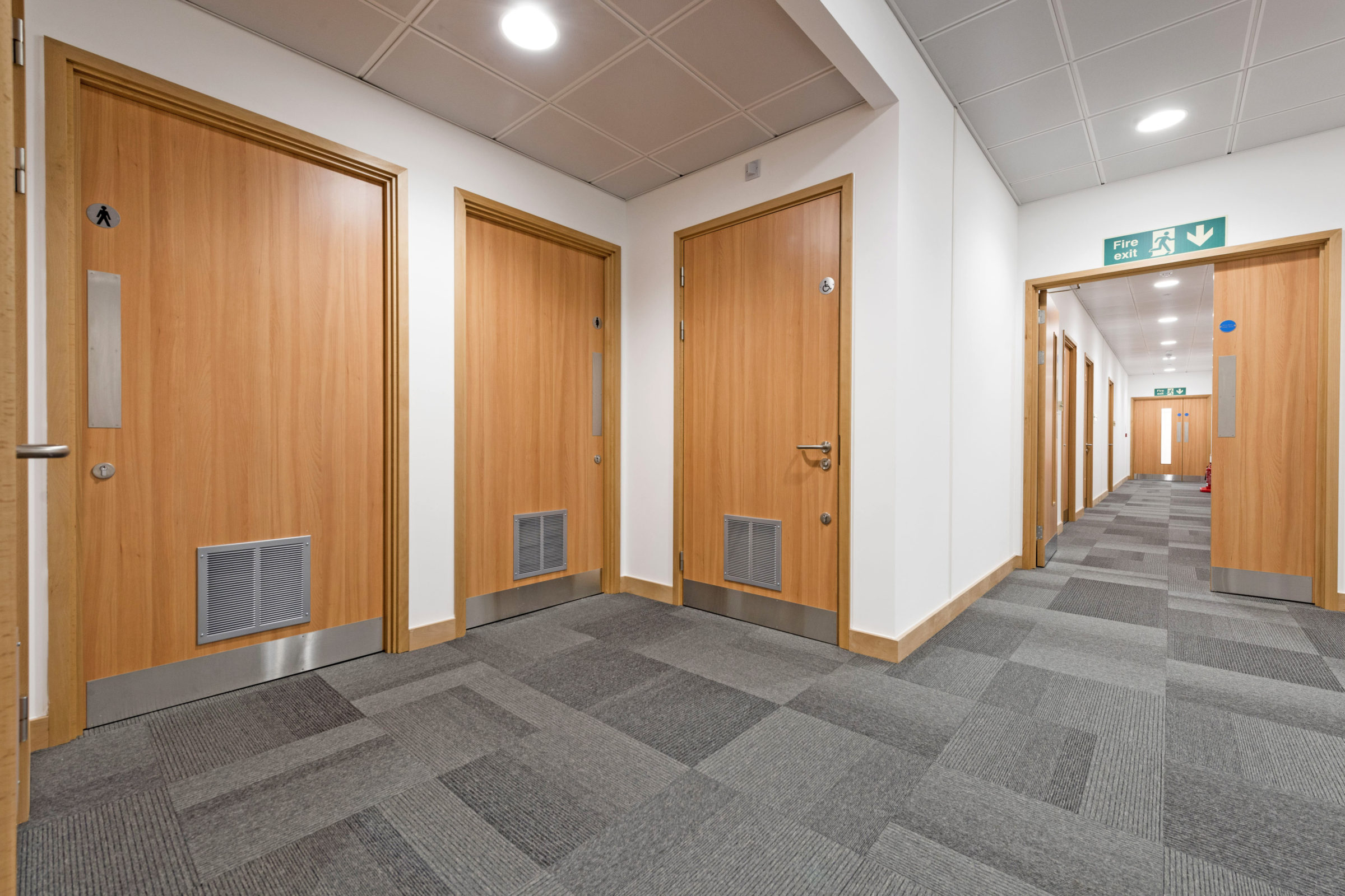 Fire Doors Supplied And Installed At Fareham Innovation Centre Ahmarra